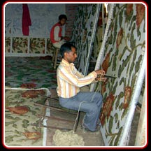 Handtufted Weaving